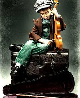 История про мальчика и скрипку